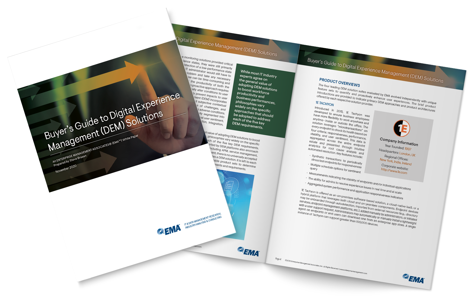 Buyer's Guide to Digital Experience Management (DEM) Solutions
